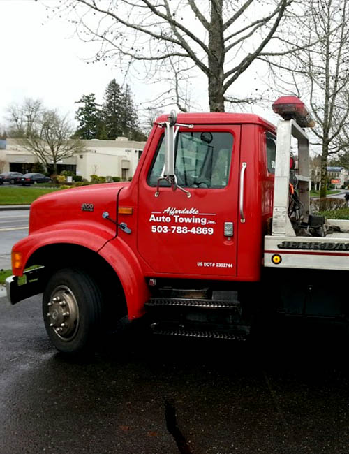 Affordable Towing ★ Tow Service in Portland